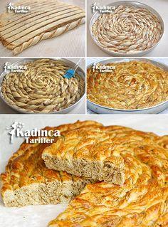 Haşhaşlı Bükme Tarifi Quiche, Food And Drink, Pie, Bread, Breakfast, Ethnic Recipes, Desserts, Foods, Beverages