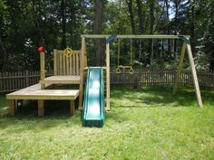 Dollops of Diane: Building Your Own Swing Set