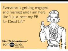 """I just beat my PR for #deadlift."" Amazing feeling!"