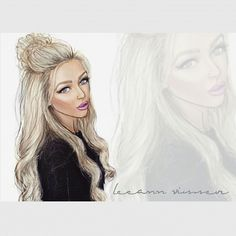 @LeeAnn Visser #fashionillustration #fashionillustrations #fashionsketch…