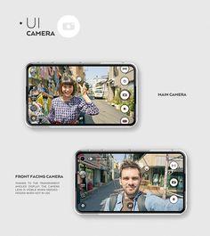 SVPER phone / ID + UI Smartphone Concept | Designer:  Rafał Czaniecki #ui #device #interface #typography #layout