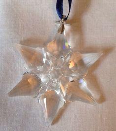 Swarovski 2000 Annual Christmas Snowflake / Star Ornament walg06. $179.00, via Etsy.
