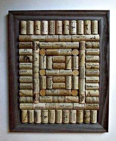Rustic Wine Cork Board / Corkboard Rustic by LizzieJoeDesigns