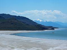 great salt lake utah pictures | Great Salt Lake, Antelope Island, Utah - Free Desktop Wallpaper
