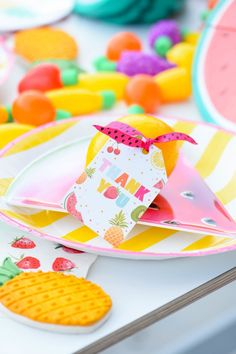 Kara's Party Ideas Tips for planning the Perfect Tutti Frutti Summer Soiree Baby Birthday, Birthday Party Themes, Birthday Ideas, Tutti Fruity Party, Fruity Drinks, Tutti Frutti, Summer Kids, First Birthdays, Party Ideas