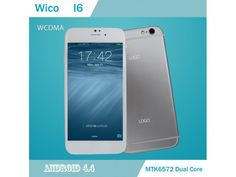 Wico I6 4.7 Inch 854x580 Android 4.2.2 Jelly Bean OS Cell phone 1GB Ram 4G Rom Single Nano Sim 3G GPS Finger Print