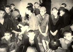 Warsaw, Poland, Jewish boys in the ghetto.  All sent to death camp. No survivors