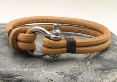 EXPRESS Versand Herren Leder Armband Leder Multi von eliziatelye
