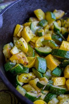 Squash And Onion Recipe, Baked Squash And Zucchini Recipes, Yellow Zucchini Recipes, Mushroom Zucchini Recipe, Zucchini Side Dishes, Yellow Squash And Zucchini, How To Cook Zucchini, Deserts