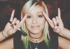 """Jenna McDougall - Tonight Alive"" - She's my biggest inspiration. Her band has helped me through my lows and given me the encouragement to do things I wouldn't normally have the strength to do. I've been lucky enough to meet her twice: the second time I was able to give her a letter I wrote detailing all my struggles and how much Tonight Alive's music has helped me. I hope to one day get a lyric tattoo from one of their songs."