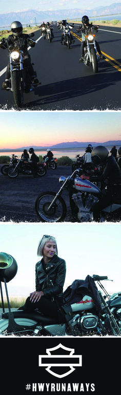 """Kahli S. - """"I love being able to have the freedom that a Harley provides and I'm lucky enough to share that freedom with some close lady friends."""" 