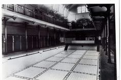 Interior of High Street Baths. Sadly demolished now Local History, Back In The Day, Small Towns, North West, Old Town, Baths, Past, England, Street