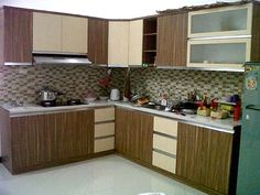 Ruang dapur untuk rumah minimalis desain interior for Gambar kitchen set