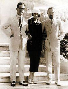 Rudolph Valentino, Natasha Rambova & Alberto Valentino 1924