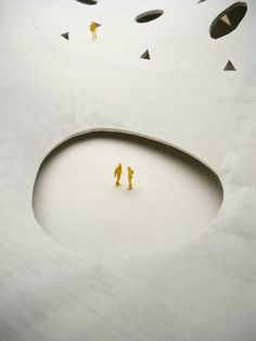 Architectural Model Powder Print