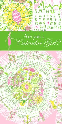 calendar girl! one of my favorite patterns I own :)