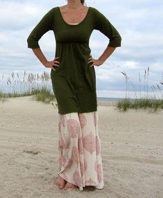 Short Heirloom Dress hemp/ organic cotton knit by gaiaconceptions, $135.00