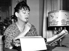 Dorothy Parker, writer.