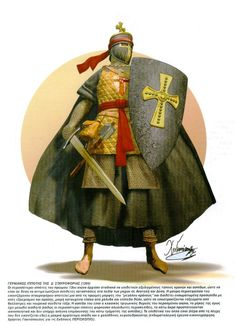 German Knight 4th Crusade