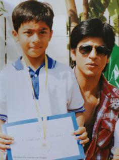 Shahrukh Khan and his son Aryan
