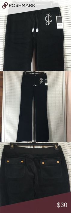 Juicy Royal Bootcut Pants Juicy Couture . Low waist , Bootcut, snap Pockets . New with tags . 78%cotton/algodon/22% polyester Juicy Couture Pants Boot Cut & Flare