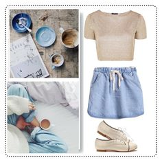"""""""Cofe"""" by binbirin on Polyvore featuring Topshop"""