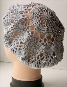 Delicadezas en crochet Gabriela: Boina