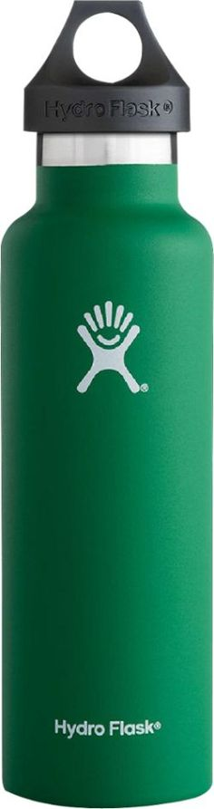 Hydro Flask Standard-Mouth Vacuum Water Bottle - 21 fl. oz. Forest 21 Fl Oz