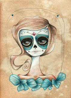 Daphne. Día de los Muertos.