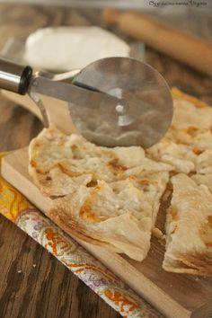 Focaccia di Recco al formaggio,Oggi cucina nonna Virginia