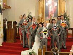 LoL!  Unique wedding idea.