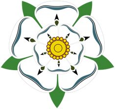 Yorkshire  White Rose, and very very proud of it <3 Tudor Rose, Dinastia Tudor, Yorkshire Rose, Yorkshire England, North Yorkshire, Lancaster, House Of York, Anne Neville, Tatoo