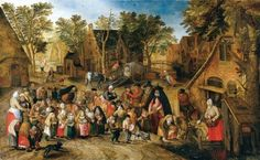 Свадьба детей (1618) (частная коллекция)