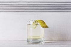 DIY Clarified Milk Punch cocktail recipe #rum #tiki
