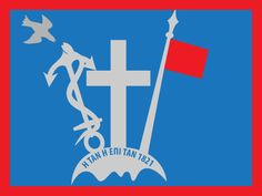 1821 Flag of Hydra Island, Saronic Gulf, Greece svg