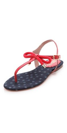 d4504b3f7 (Limited Supply) Click Image Above  Red Valentino Nautical Flat Sandals
