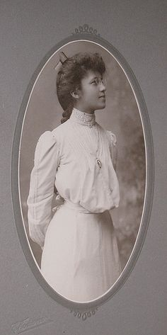 African American girl in glasses antique cabinet photo from Victorian age by Kingkongphoto & www.celebrity-pho..., via Flickr