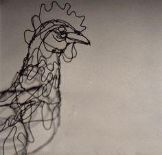 by Susan Graham    ------wire    art