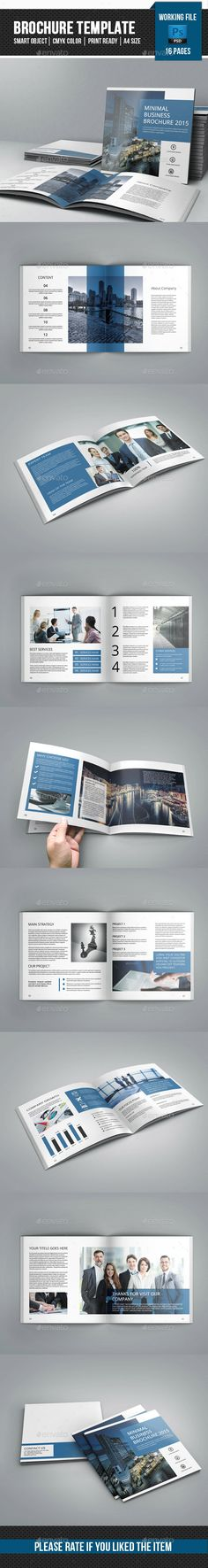 Corporate Square Brochure Template #brochure Download: http://graphicriver.net/item/corporate-square-brochurev26/11454161?ref=ksioks