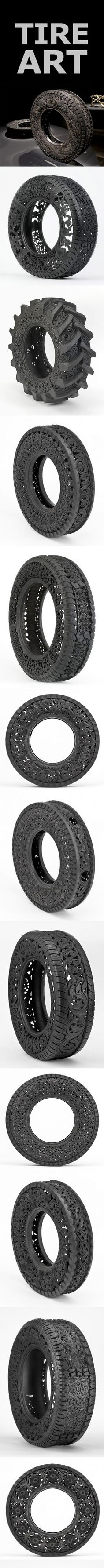 tire art.Jorge's tire art board is pretty thorough//They see me rollin'... they hatin'...   try catch me ridin' pretty......Corinne