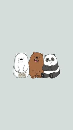 Black Wallpaper Cartoon we bare bears wallpaper Cute Panda Wallpaper, Cartoon Wallpaper Iphone, Disney Phone Wallpaper, Bear Wallpaper, Locked Wallpaper, Kawaii Wallpaper, Screen Wallpaper, We Bare Bears Wallpapers, Panda Wallpapers
