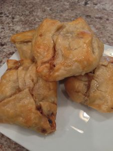 Mini Nutty Brie Pockets - Seasons For Cooking