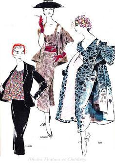 Jardin des modes - Avril 1953