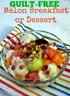 Delicious Low-Calorie Breakfast or Dessert ~ you decide !   #Breakfast #LowCalorieRecipe #Dessert