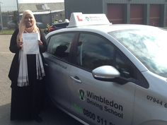 Well done to Safia from #Streatham who passed her test in #Mitcham.