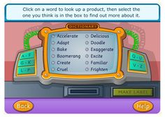Dictionary Game for Kids