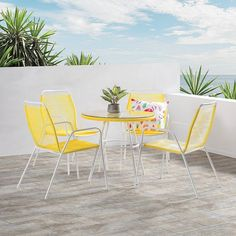 Summer Daze #AmartFurniture  FT: Joy 5 Piece Outdoor Dining Set with White Frame $279