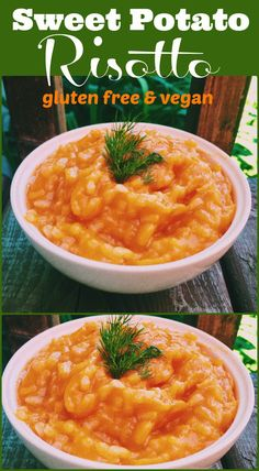 Creamy, velvety sweet potato risotto to tantalize your taste buds on Elle's Gourmet Life
