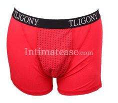 $18.27  Soft Modal Magnetotherapy Men's Health Care Boxer Briefs RED   underwear