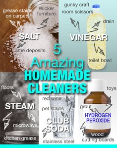 Hometalk :: Top Homemade Cleaning Products in 5 Minutes or Less